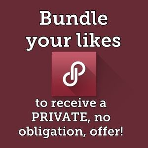 Bundle likes for a Private offer, no obligation!